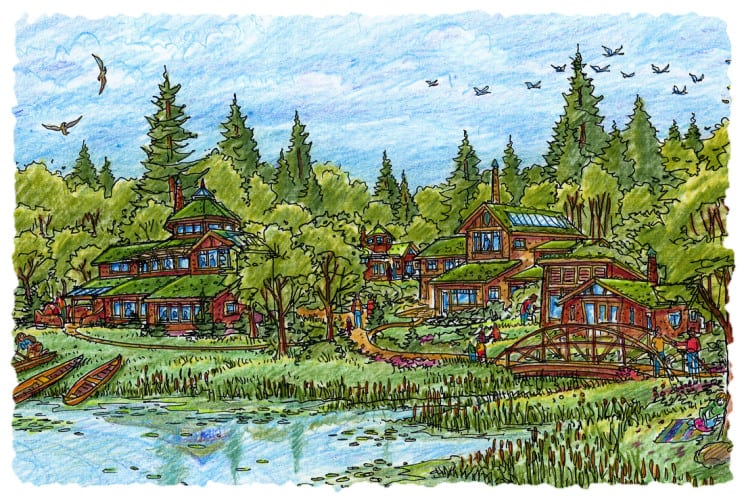 Eko Selo Crtež