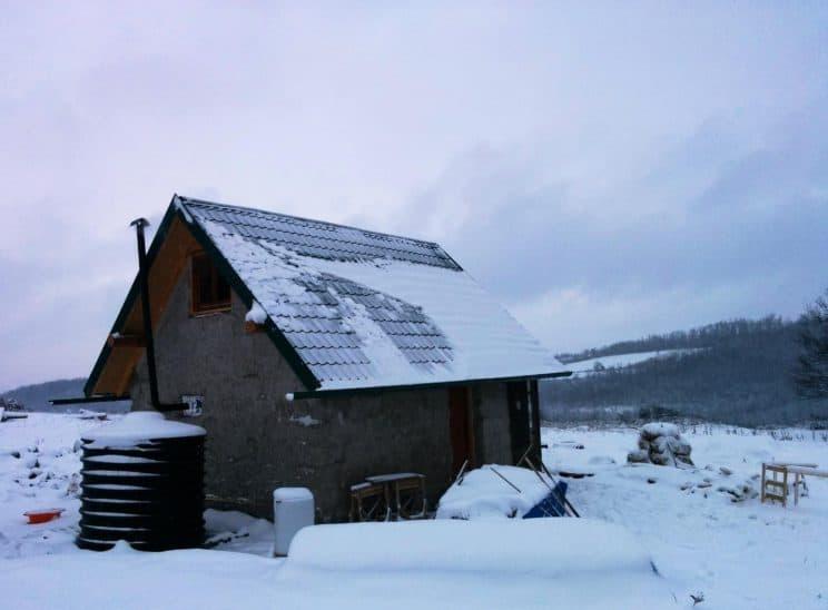 Koliba Zima